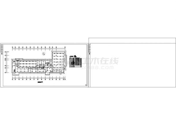 办公楼设计_商务办公楼电气施工图(共14张).cad-图二