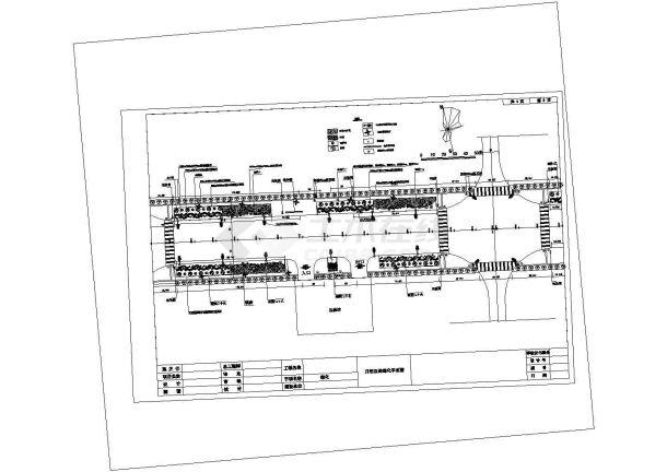 某月岩西路绿化工程景观设计详细施工方案CAD图纸-图二