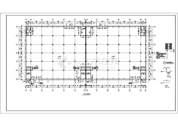 厂房设计_某两层厂房建筑施工图设计CAD图-图二