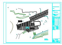 长23米 宽10米 单层景区茶室建筑施工图纸(含设计说明)-图二