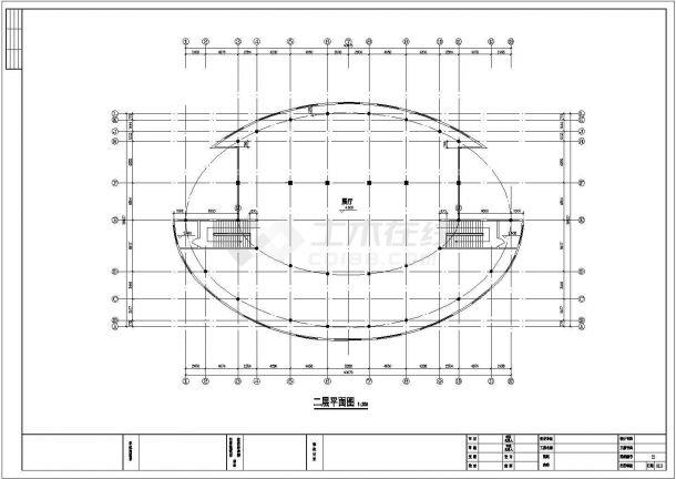 苏州工业园区某大型绿地公园景观设计CAD图纸-图一