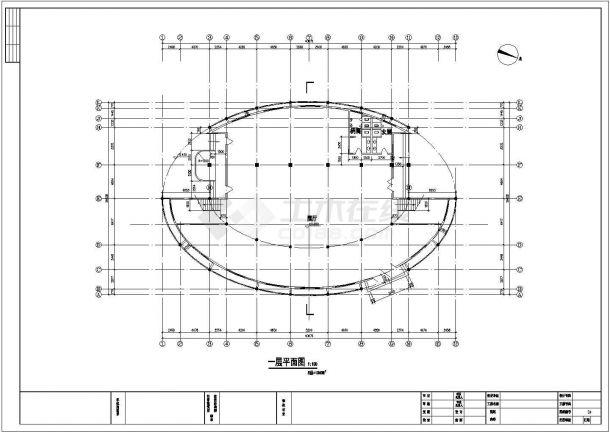 苏州工业园区某大型绿地公园景观设计CAD图纸-图二