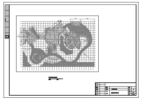 某园林花卉博览会人民公园园林景观设计cad图(带效果图,共十四张)-图一