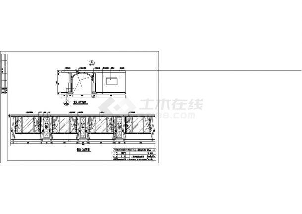 济南丰盛园海鲜酒店室内精装修设计cad全套施工图(甲级院设计)-图一