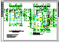 2层独栋别墅建筑设计施工cad全图附效果图-图二
