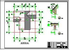 2层独栋小别墅建筑设计施工cad图(含效果图)-图一