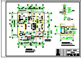 2层独栋小别墅建筑设计施工cad图(含效果图)-图二