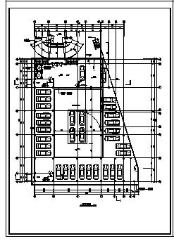 某十层五星级酒店建筑施工cad图_酒店施工-图二
