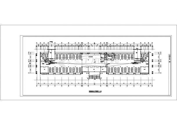 五层办公楼电气设计方案CAD建筑设计施工图-图一