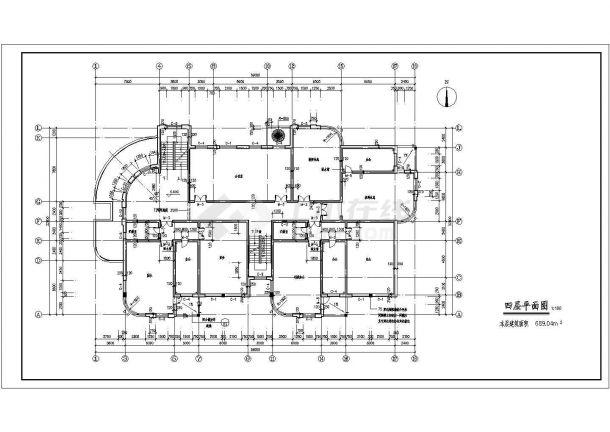 某地区9班幼儿园建筑设计方案图-图一