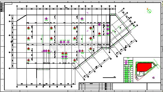 某厂房除尘通风施工cad设计图纸-图二