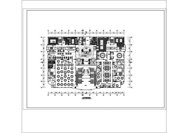某五星级酒店建筑方案CAD建筑设计施工图-图一