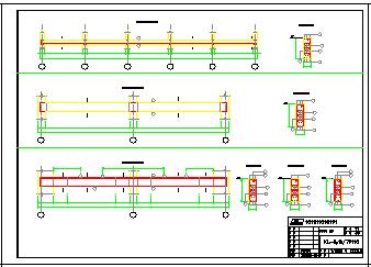 某大型工厂房全套cad结构设计施工图纸-图一