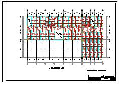 某四层框架结构教学楼建筑工程量计算实例(含CAD图)-图一