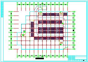 某购物中心初步设计CAD方案规划图纸-图一