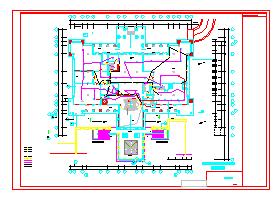 某酒店火灾自动报警系统设计施工图-图一