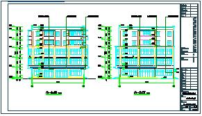 某市规划集贸市场商业建筑cad方案设计图-图一