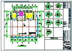 某市规划集贸市场商业建筑cad方案设计图-图二