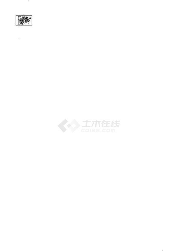 四川某县城公园景观设计cad施工图-图二
