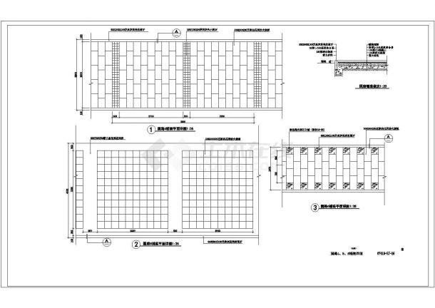 新通扬运河河滨公园景观设计成套图纸-图一
