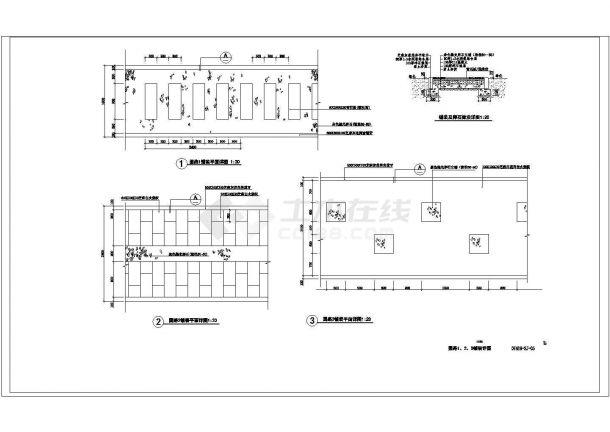 新通扬运河河滨公园景观设计成套图纸-图二