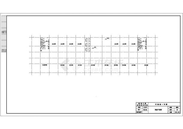 【贵阳市】111555平方米15层框剪住宅楼建筑全套cad图,含效果图-图一