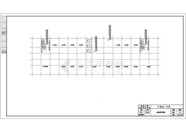 【贵阳市】111555平方米15层框剪住宅楼建筑全套cad图,含效果图-图二
