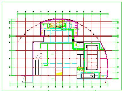 某住宅地下室中央空调cad全套设计施工图纸-图二