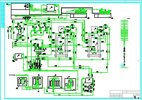 一整套药厂锅炉房设计施工cad图纸-图一
