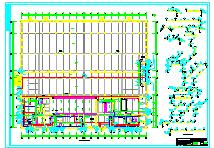 [仓储冷库图纸]-面食和海产品综合加工车间及冷库给排水设计图纸-图一