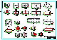 [仓储冷库图纸]-某冷库结构设计施工全图-图二