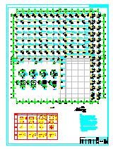 [仓储冷库图纸]-某续建框架冷库结构设计施工图-图一