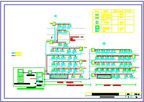 火灾自动报警及消防联动控制系统CAD版系统平面施工图-图一
