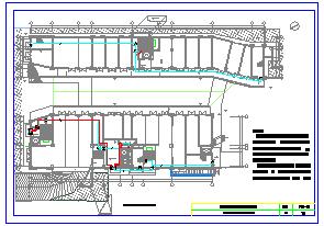 火灾自动报警及消防联动控制系统CAD版系统平面施工图-图二