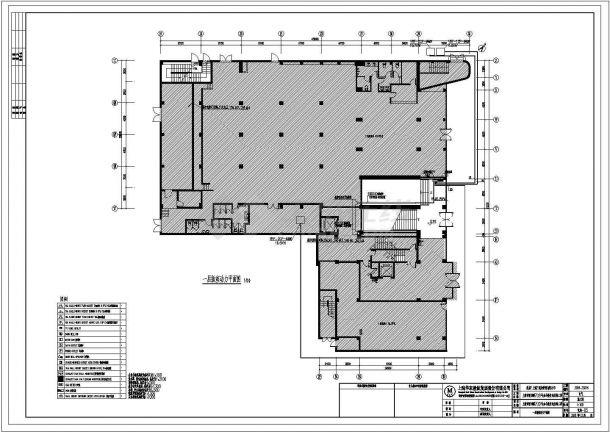 某酒店管理公司办公楼电气设计cad施工图-图二