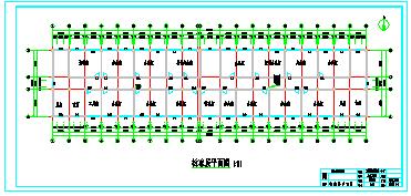 【6层】6138.76平米框架综合办公楼cad毕业设计(开题报告、实习报告、计算书、建筑、结构图)-图二