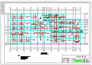 【7层】办公楼全套cad设计(6118平,含计算书、施工组织设计、建筑图,结构图)-图二