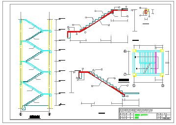 4层2430办公综合楼cad设计+施工组织设计+工程量计算(含实习总结和日记,施工图等)-图二
