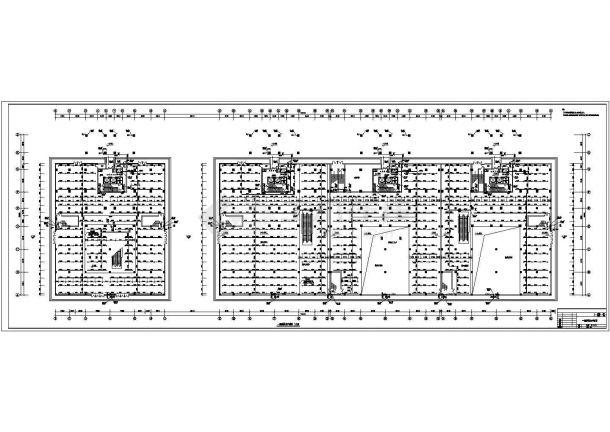 某地区高层商住两用建筑给排水消防设计施工详细方案CAD图纸-图一