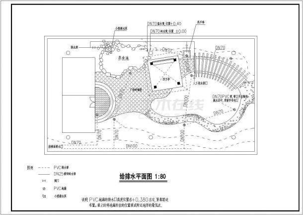 某住宅楼屋顶花园景观绿化规划设计cad全套施工图(含设计说明)-图二