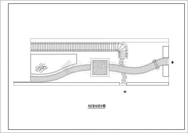 某小型KTV屋顶花园绿化设计cad全套施工图(含设计说明)-图二