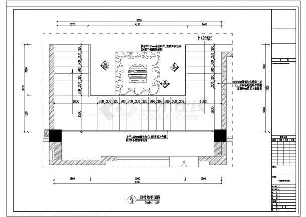 某川味餐饮火锅店室内装修CAD节点完整构造立面图-图一