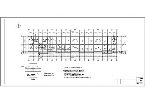 3406.56㎡六层砖混住宅楼招标文件及标底(工程量清单、部分设计CAD图)-图一