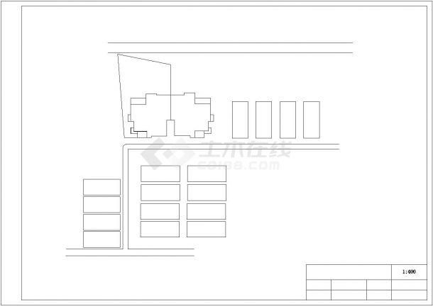 阳光清华花园景观绿化规划设计cad全套施工图-图一