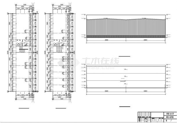 门式刚架轻型钢结构工业厂房设计(含图纸、计算书)-图二