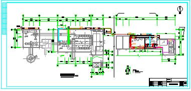 某县集中供热锅炉房cad施工设计图-图二
