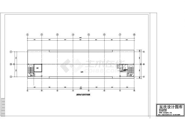 某五层工业厂房电气施工图纸-图二