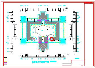 某酒店火灾自动报警系统cad设计施工图-图二