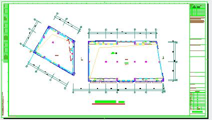 [江苏]大型购物中心二次深化智能弱电系统cad设计图纸(含车库智能系统、安防系统)-图一