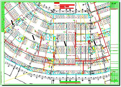 [江苏]大型购物中心二次深化智能弱电系统cad设计图纸(含车库智能系统、安防系统)-图二